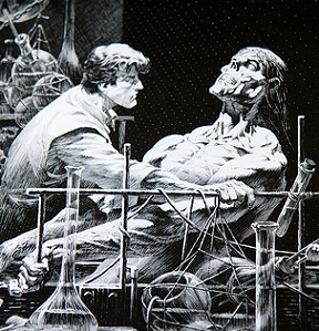 Art by Bernie Wrightson.