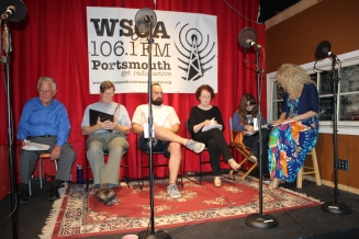 Something in the Nothing cast alzheimer's Erika Wilson John Pearson Nicholas Conley WSCA radio play